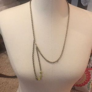 Coldwater creek long chain necklace adjustable